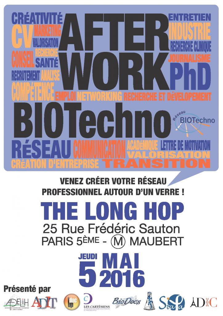 affiche after work biotechno-1